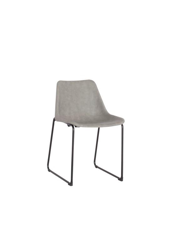 Jídelní židle Britain, vintage šedá