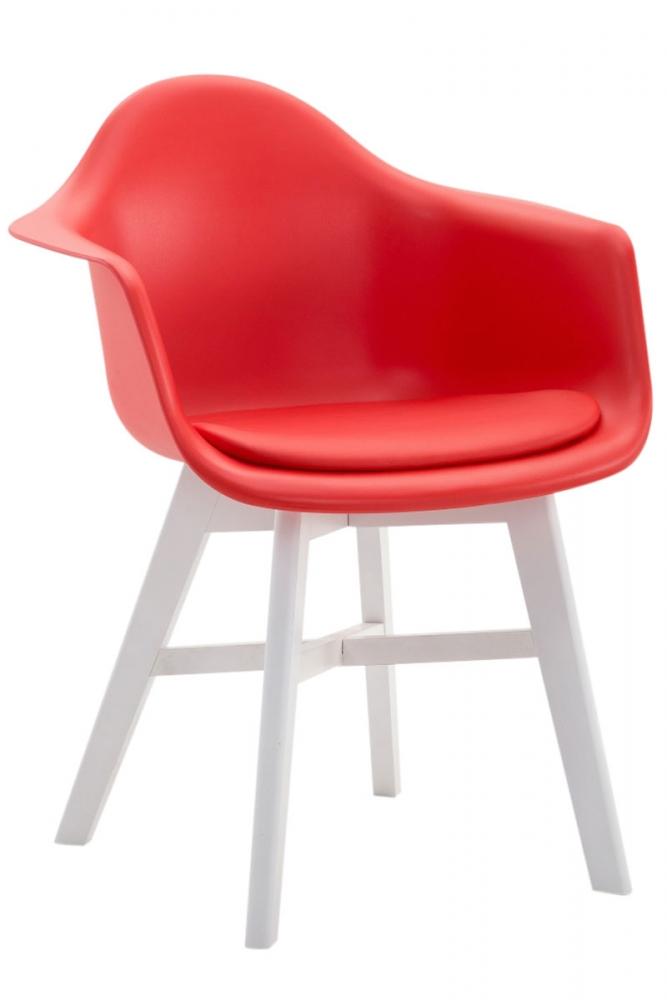 Jídelní židle Calgary, červená