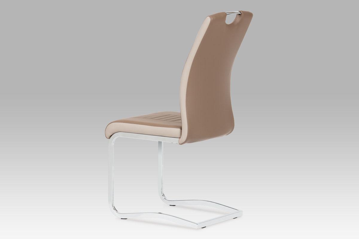 Jídelní židle Debran (SET 4 ks), cappuccino