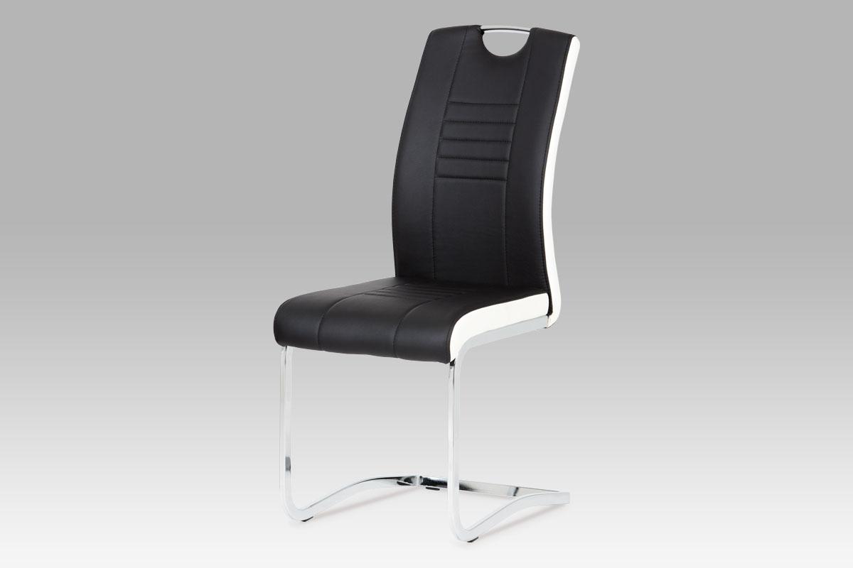 Jídelní židle Debran (SET 4 ks), černá