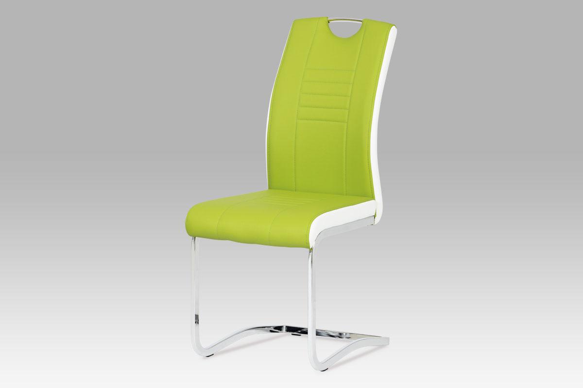 Jídelní židle Debran (SET 4 ks), limetka