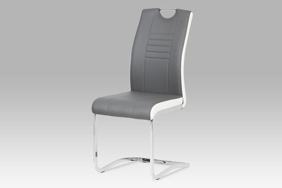 Jídelní židle Debran (SET 4 ks), šedá