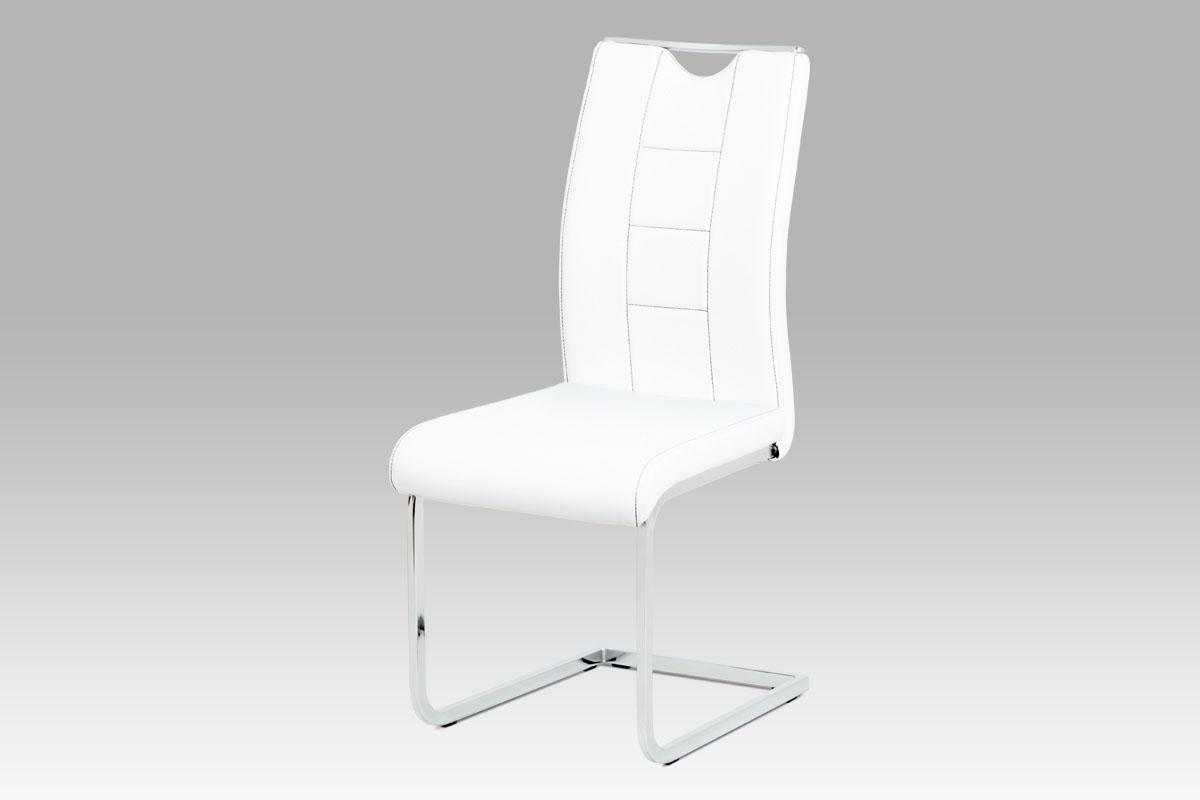 Jídelní židle Delmer (SET 4 ks), bílá