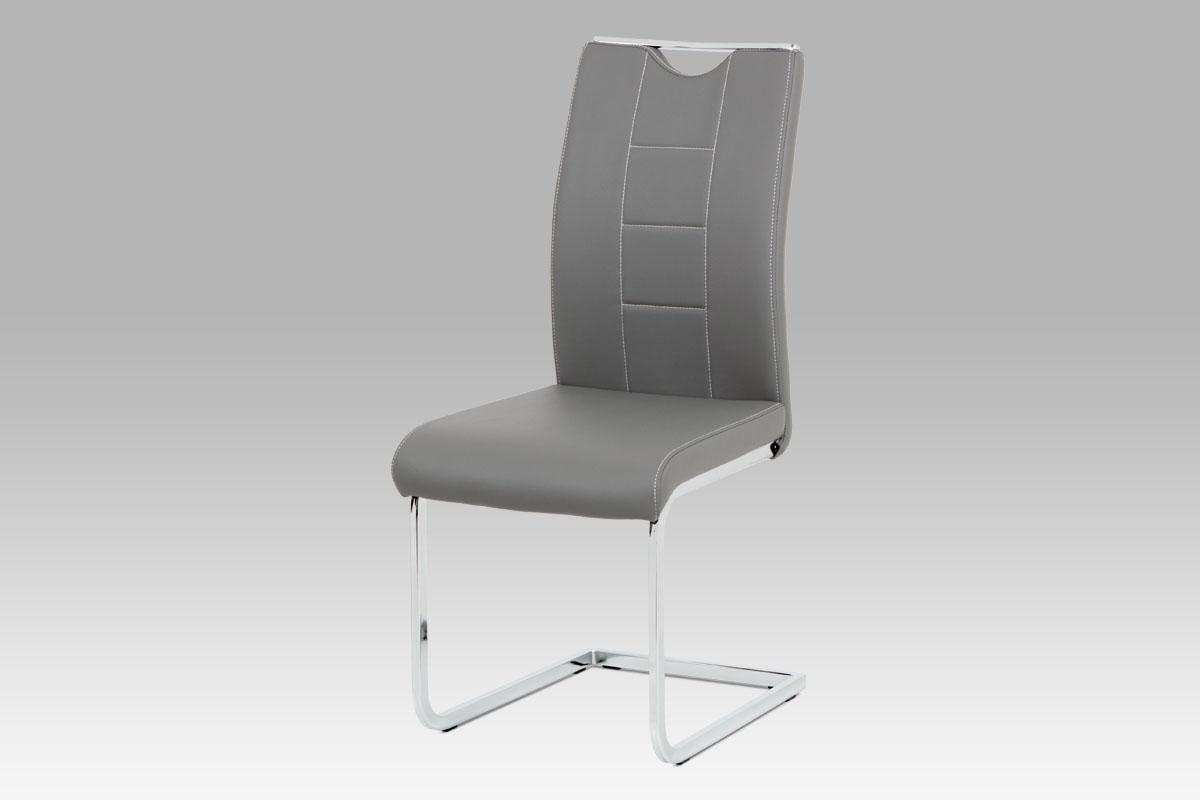 Jídelní židle Delmer (SET 4 ks), šedá