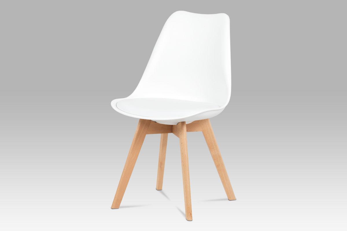 Jídelní židle Denise (SET 4 ks), bílá