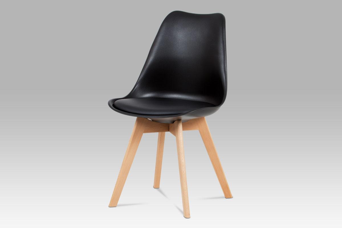 Jídelní židle Denise (SET 4 ks), černá