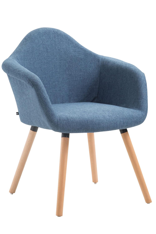 Jídelní židle Detta textil, přírodní nohy