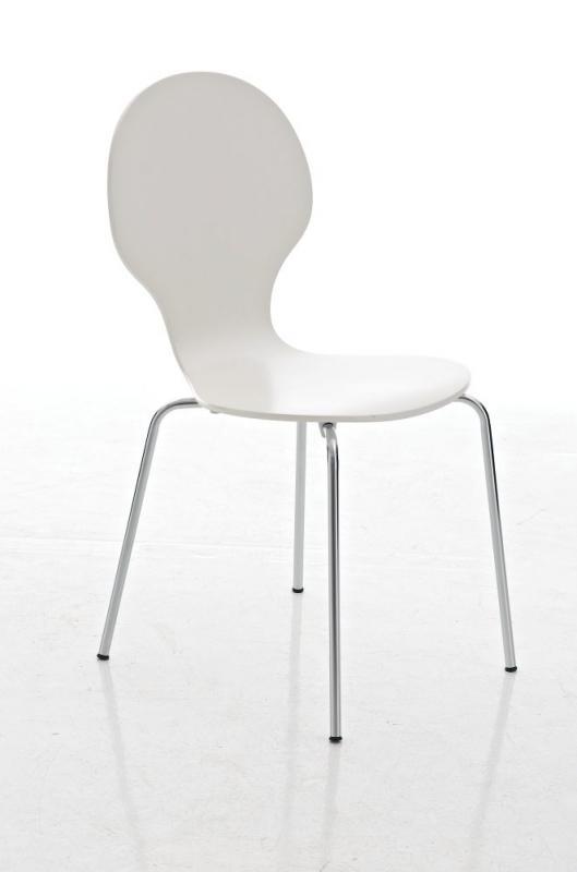 Jídelní židle Diego, bílá