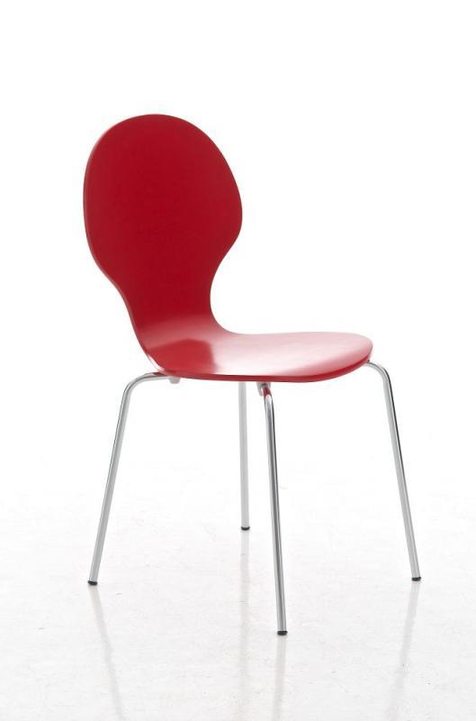 Jídelní židle Diego, červená
