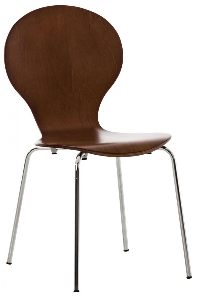Jídelní židle Diego, hnědá
