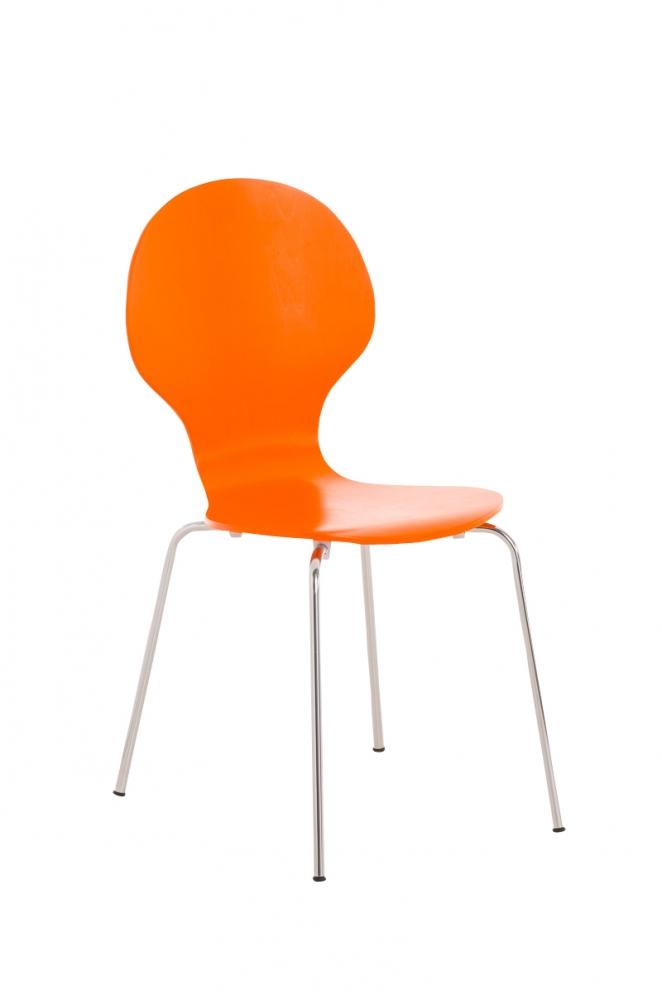 Jídelní židle Diego, oranžová