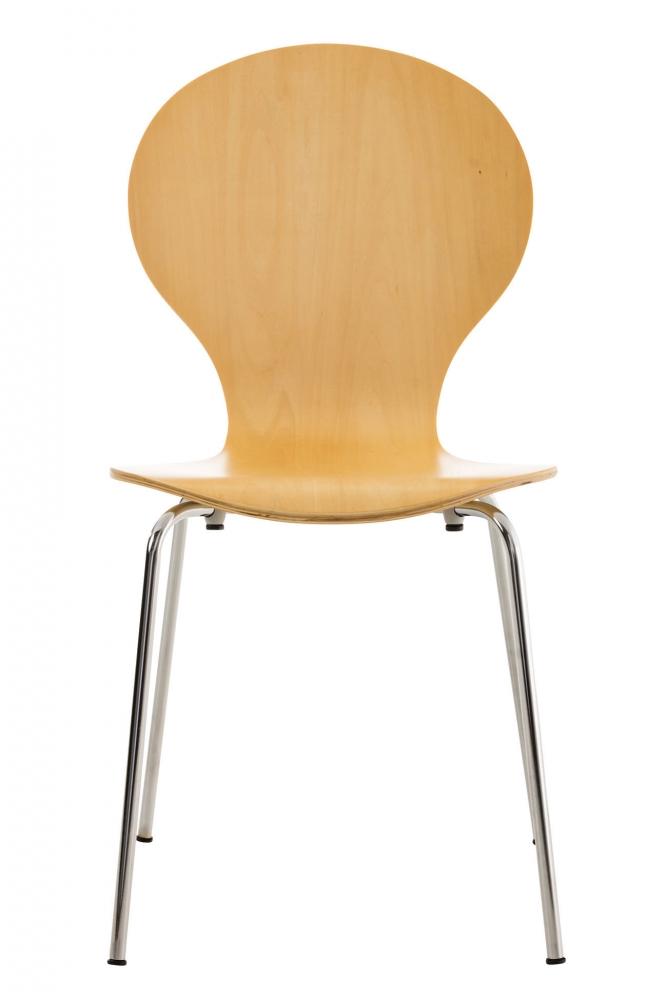 Jídelní židle Diego, přírodní dřevo