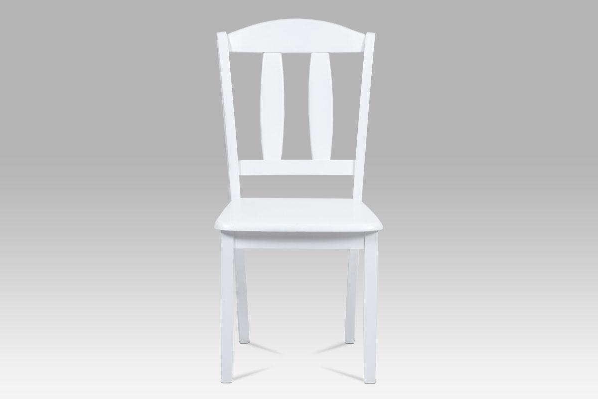 Jídelní židle dřevěná Desert, bílá