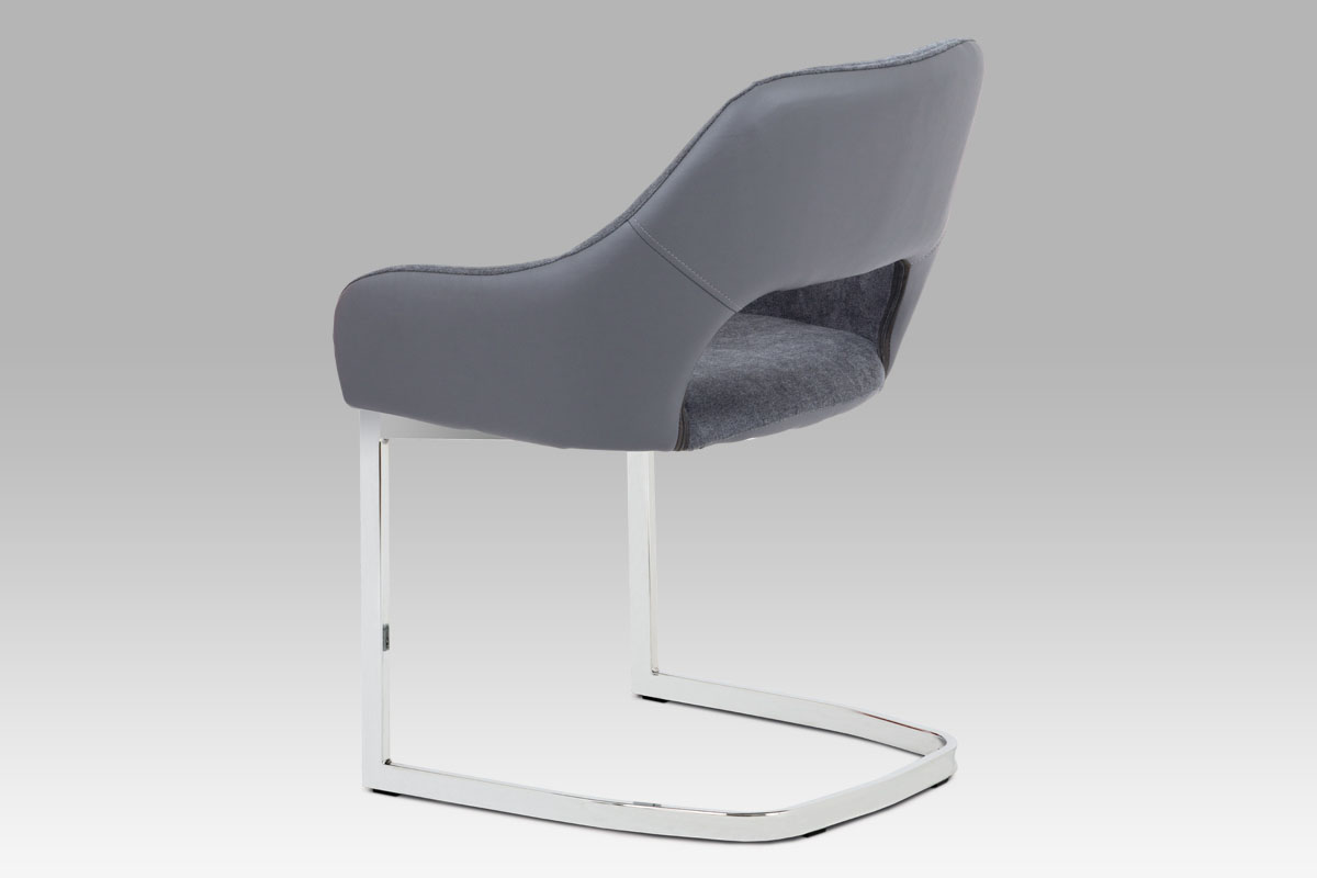 Jidelní židle Edgar, šedá