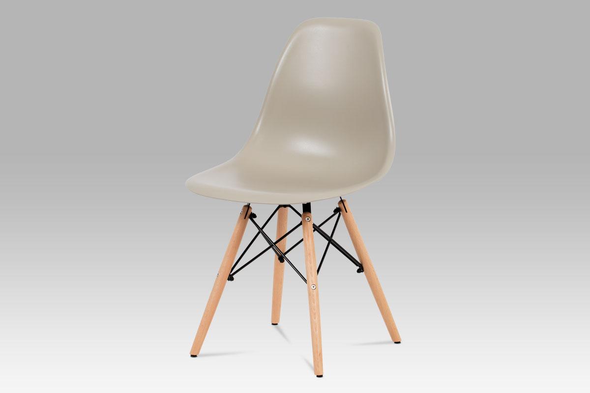 Jídelní židle Elian (SET 4 ks), latté