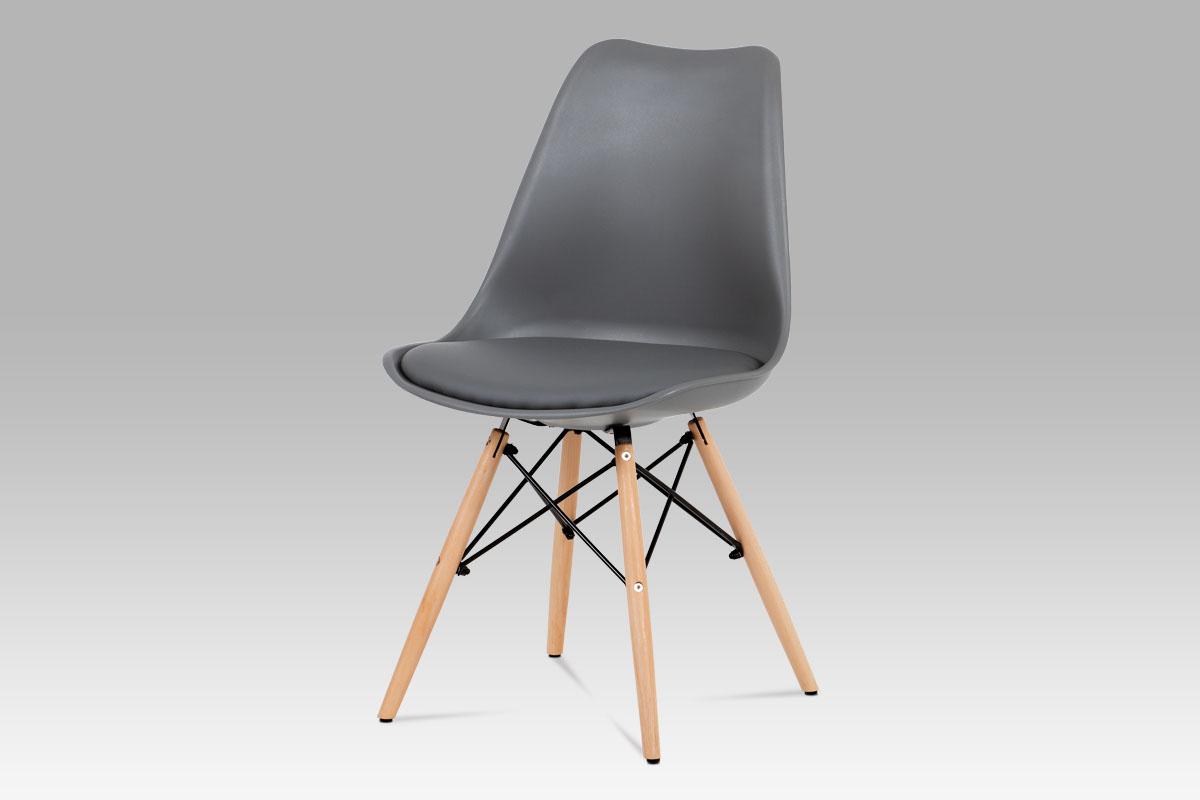 Jidelní židle Elise (SET 4 ks), šedá