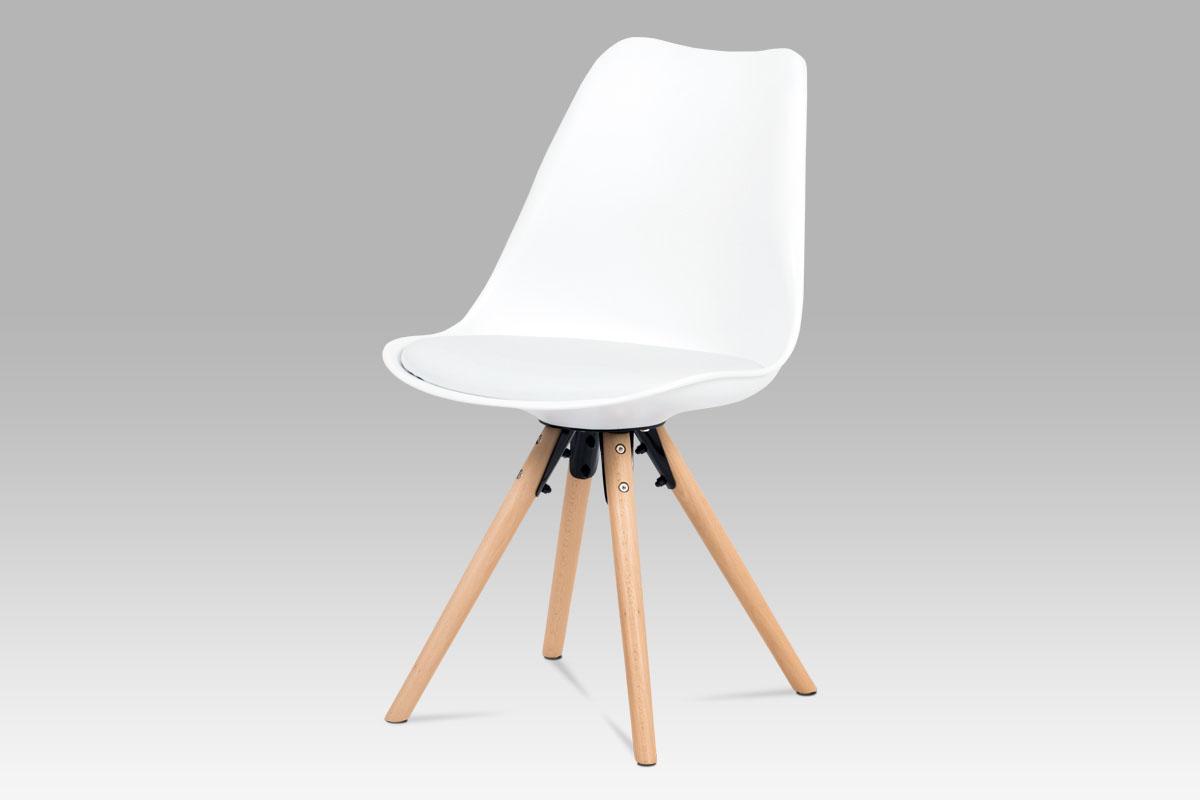 Jídelní židle Erny (SET 2 ks), bílá