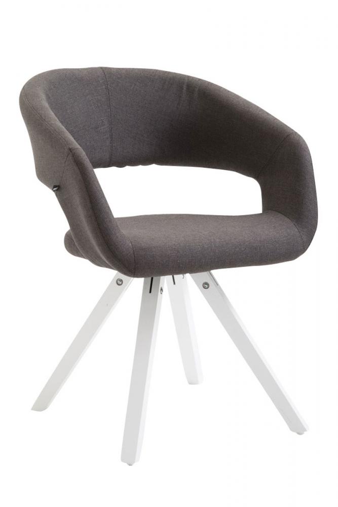 Jídelní židle Etna, šedá / bílá