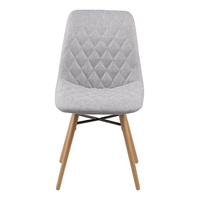 Jídelní židle Filip (SET 2 ks), šedá