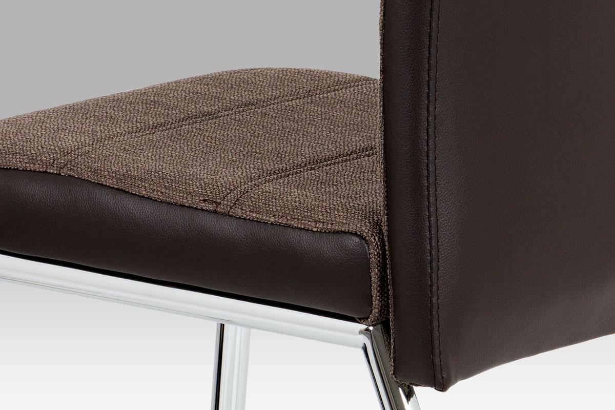 Jídelní židle Franck, coffee