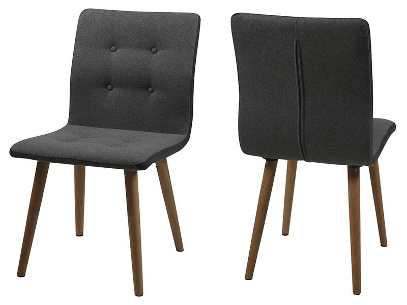 Jídelní židle Fredy (SET 2 ks) šedá