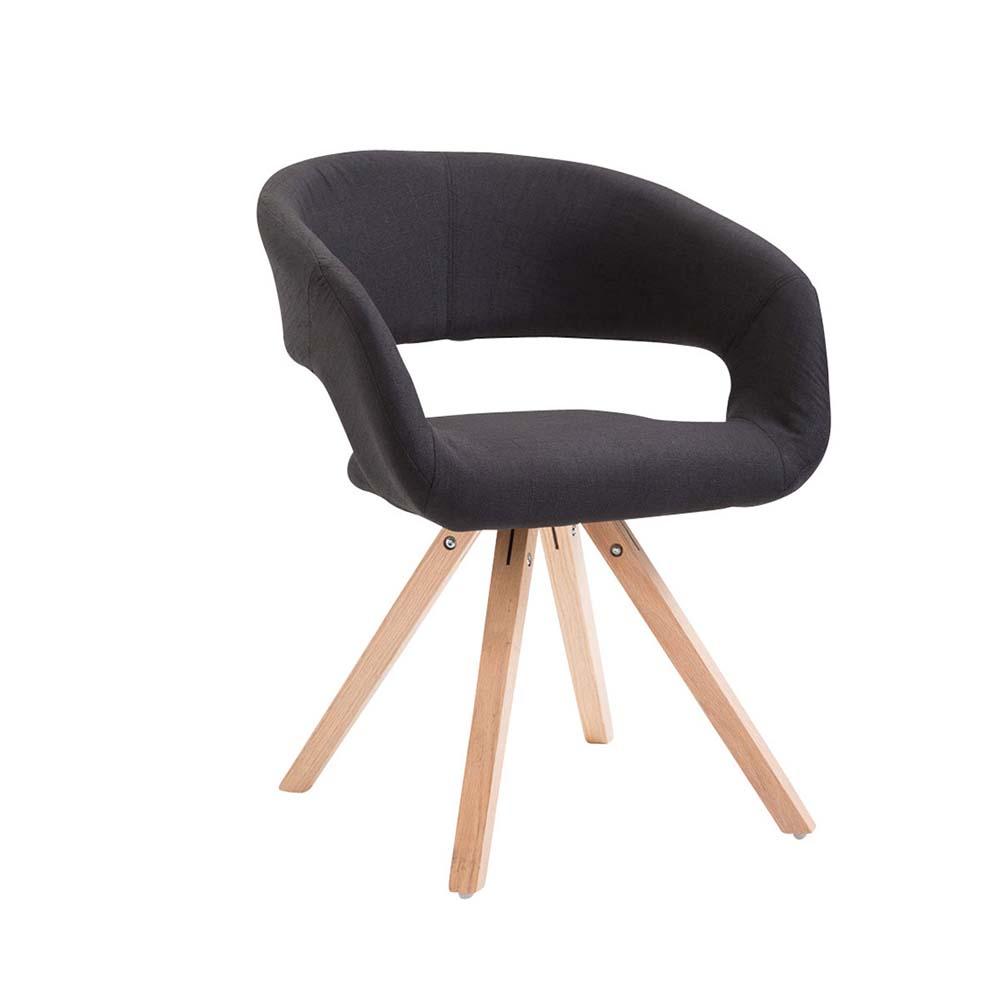 Jídelní židle Gizela II. textil, přírodní hnědá