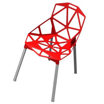 Jídelní židle Guru, červená