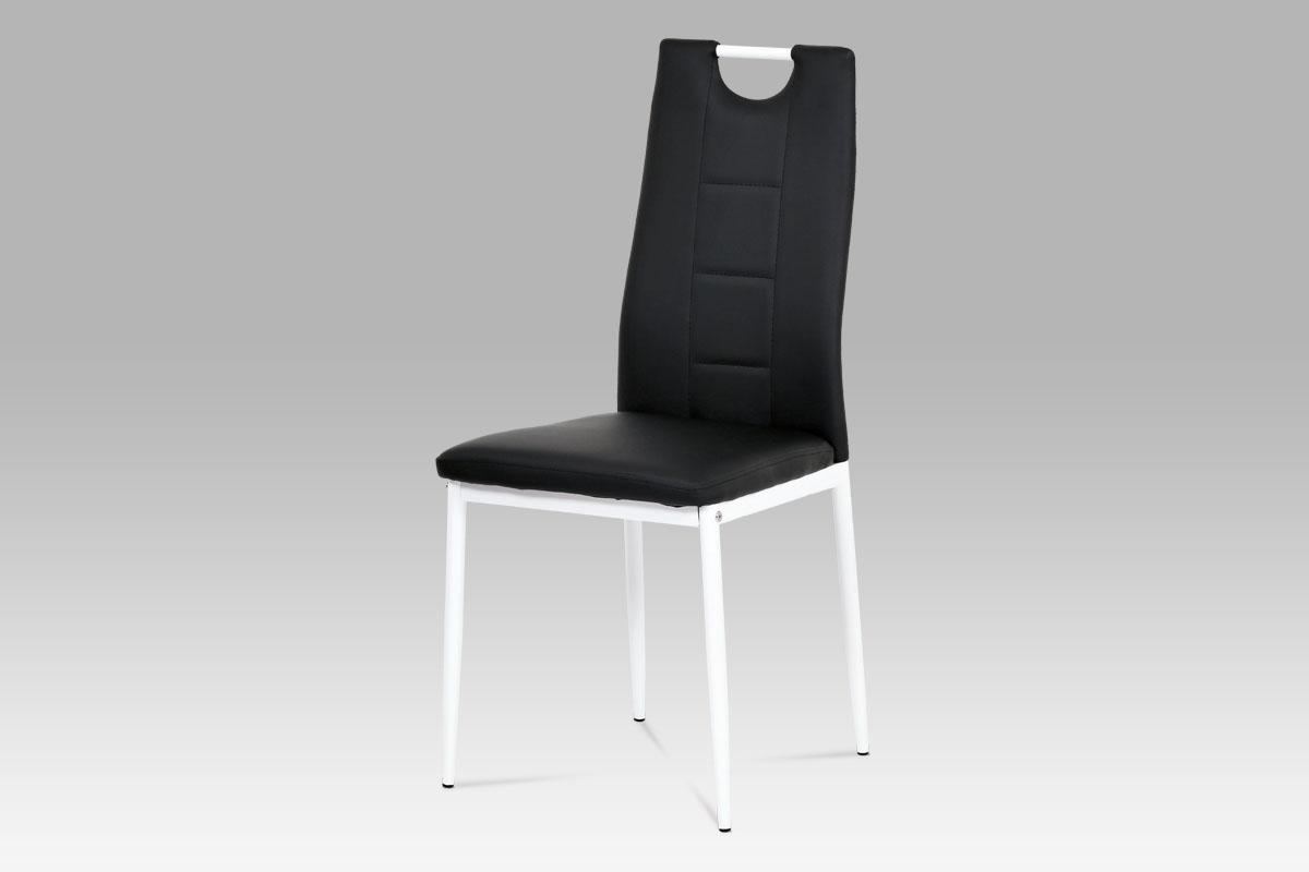 Jídelní židle Henrieta, černá/bílá