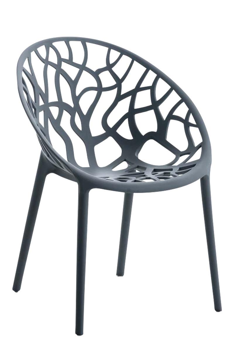Jídelní židle Hoppas šedá