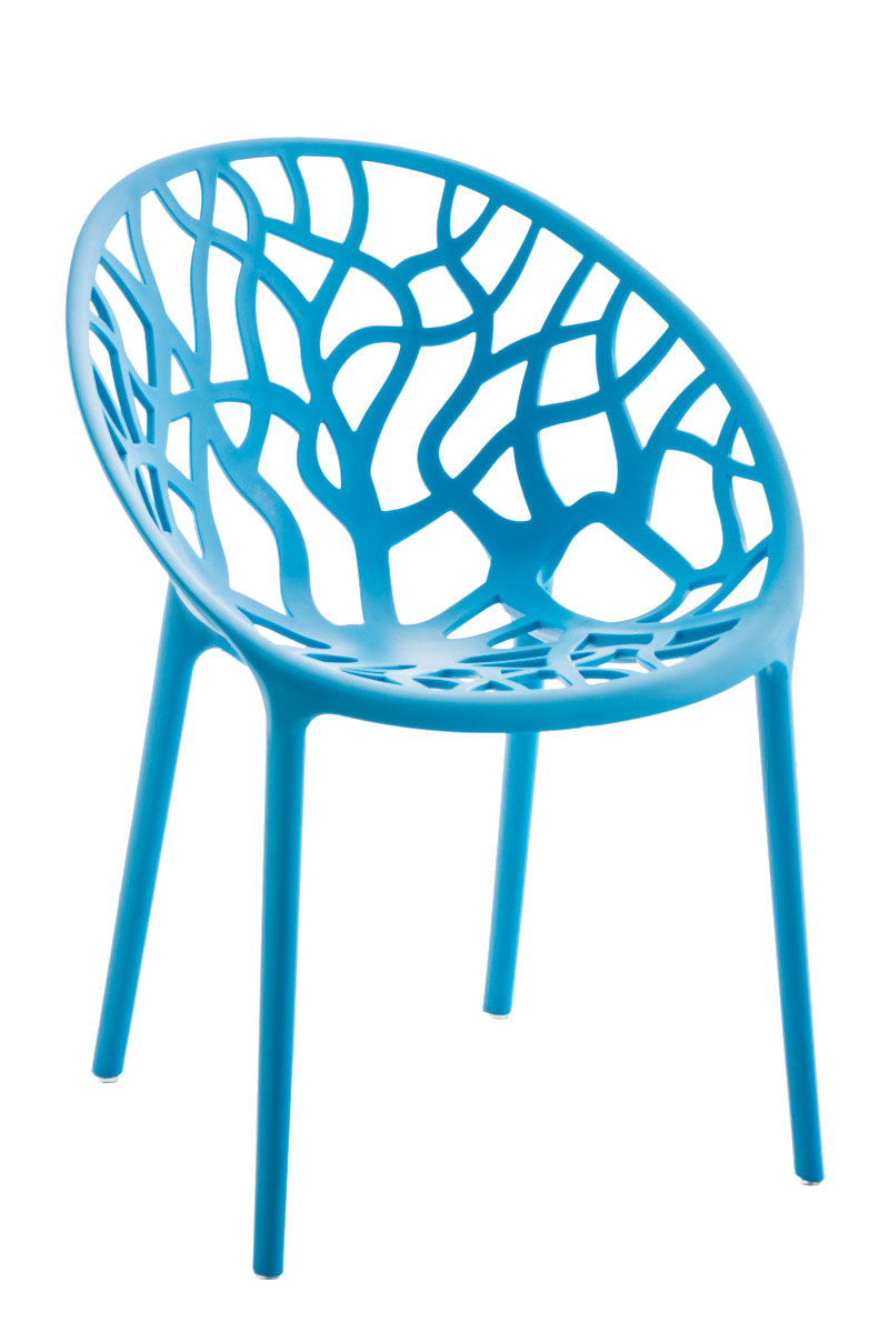 Jídelní židle Hoppas modrá