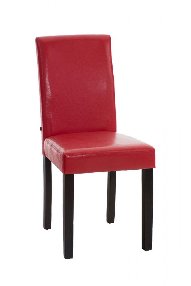 Jídelní židle Ina, červená