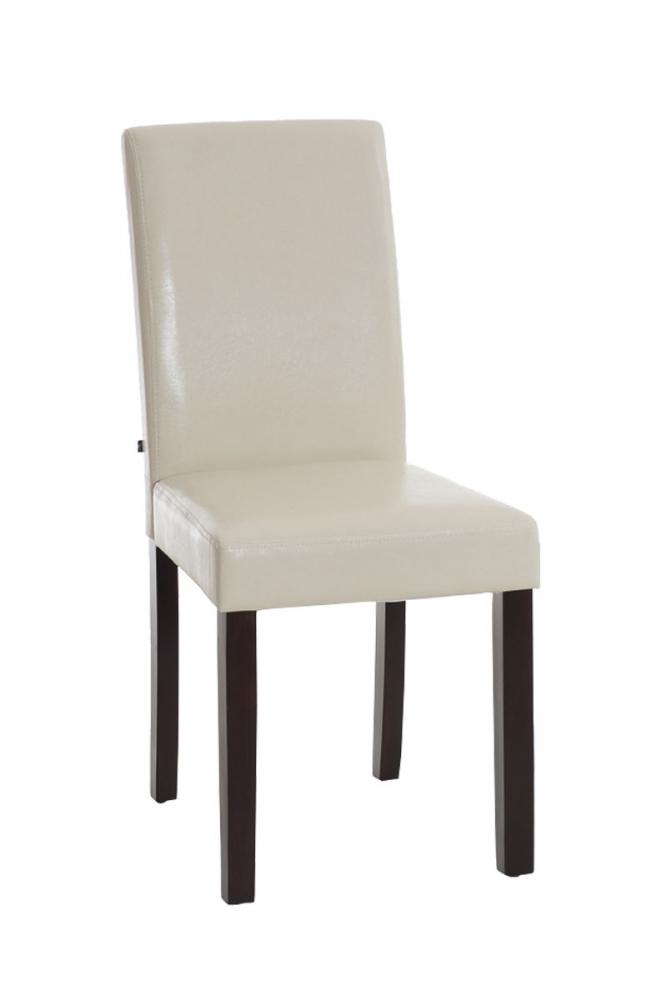 Jídelní židle Ina, krémová