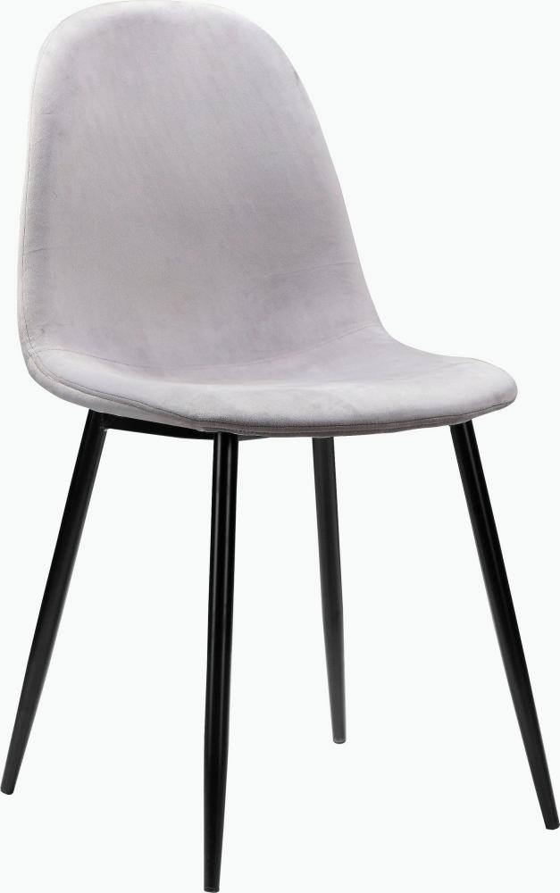 Jídelní židle Ines (SET 4 ks), šedá