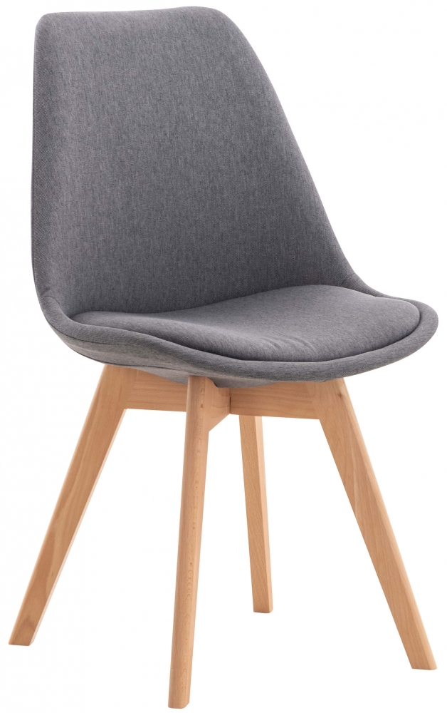 Jídelní židle Ingrid, šedá