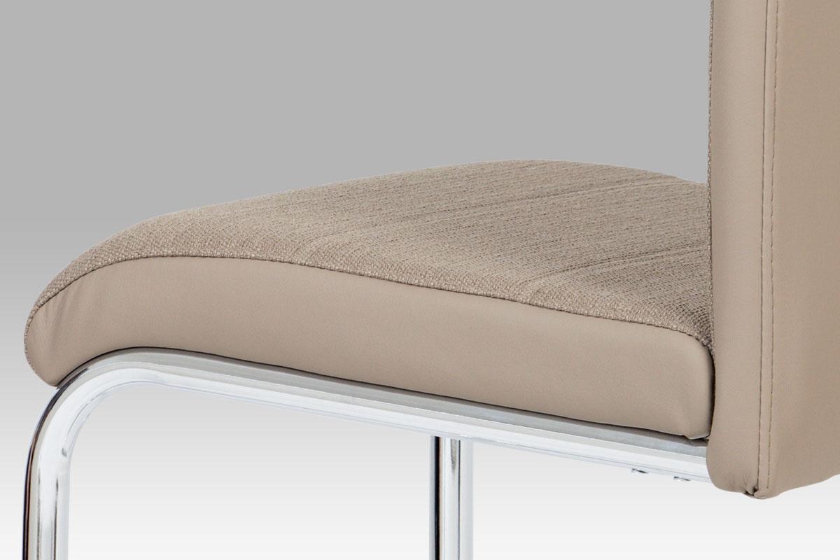 Jídelní židle Jerome, cappuccino / lanýžová