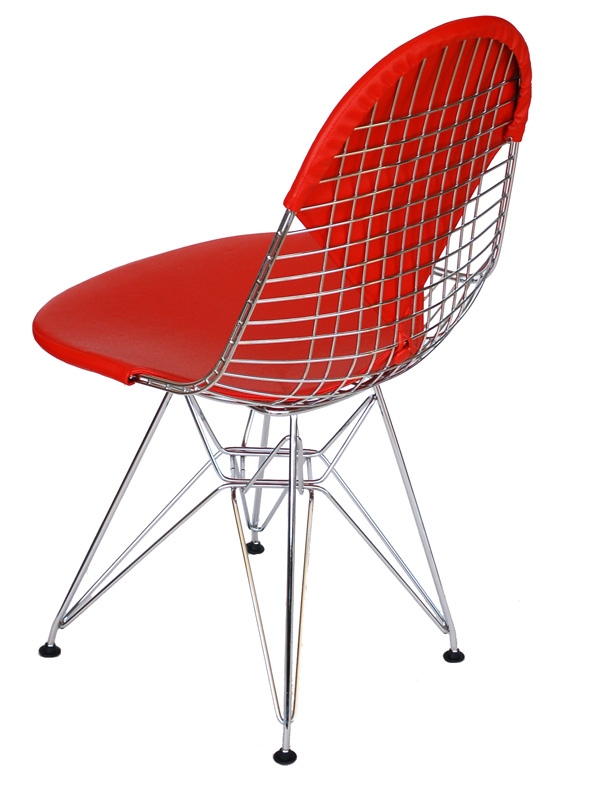 Jídelní židle Jette, chrom/červená