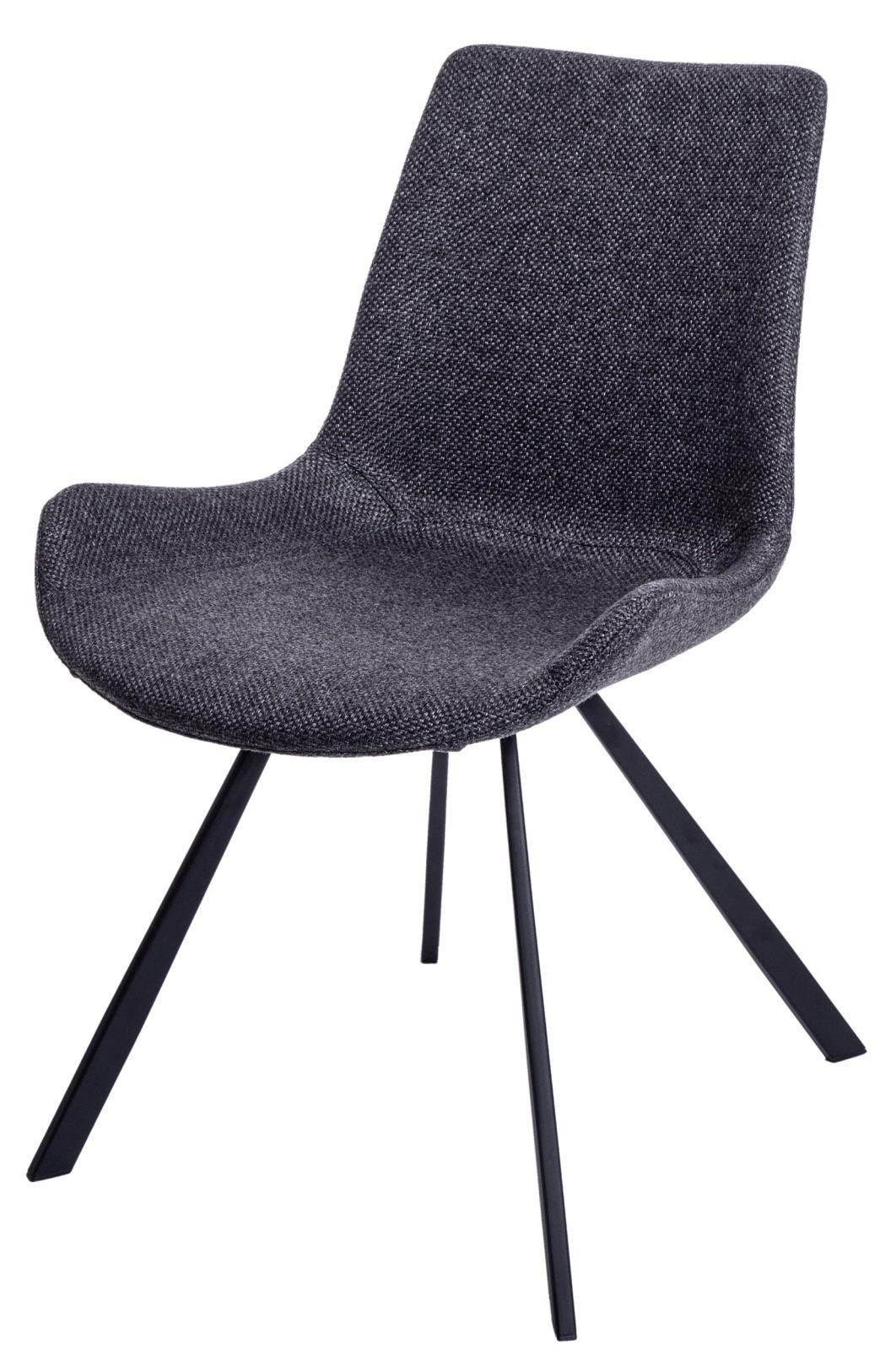 Jídelní židle Jordan, tmavě šedá