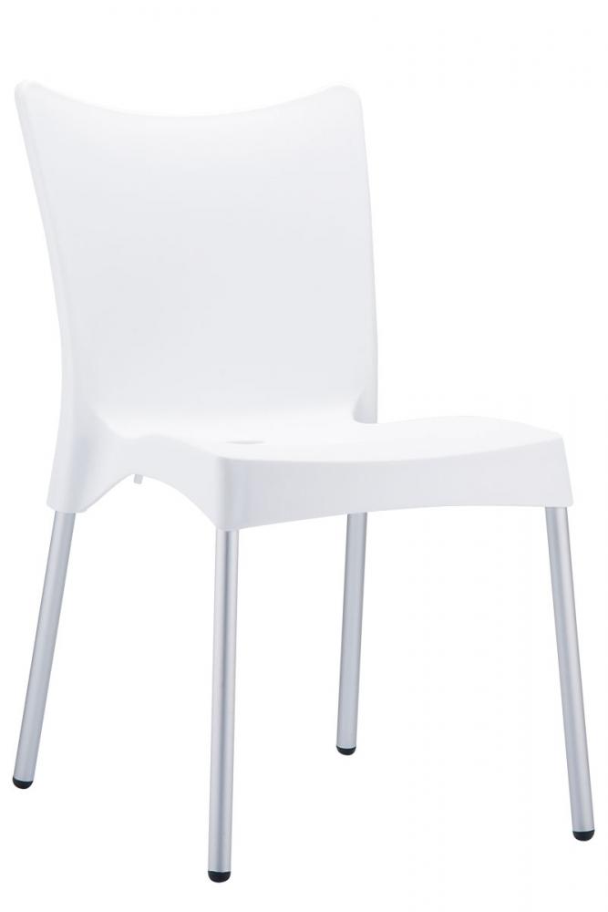 Jídelní židle Juliette, bílá