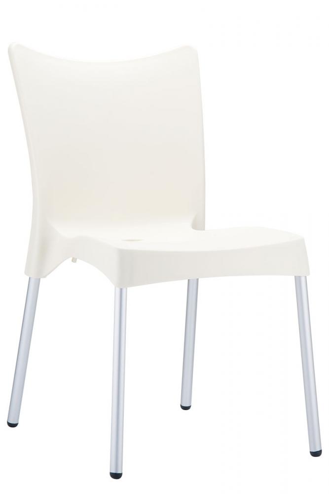 Jídelní židle Juliette, krémová
