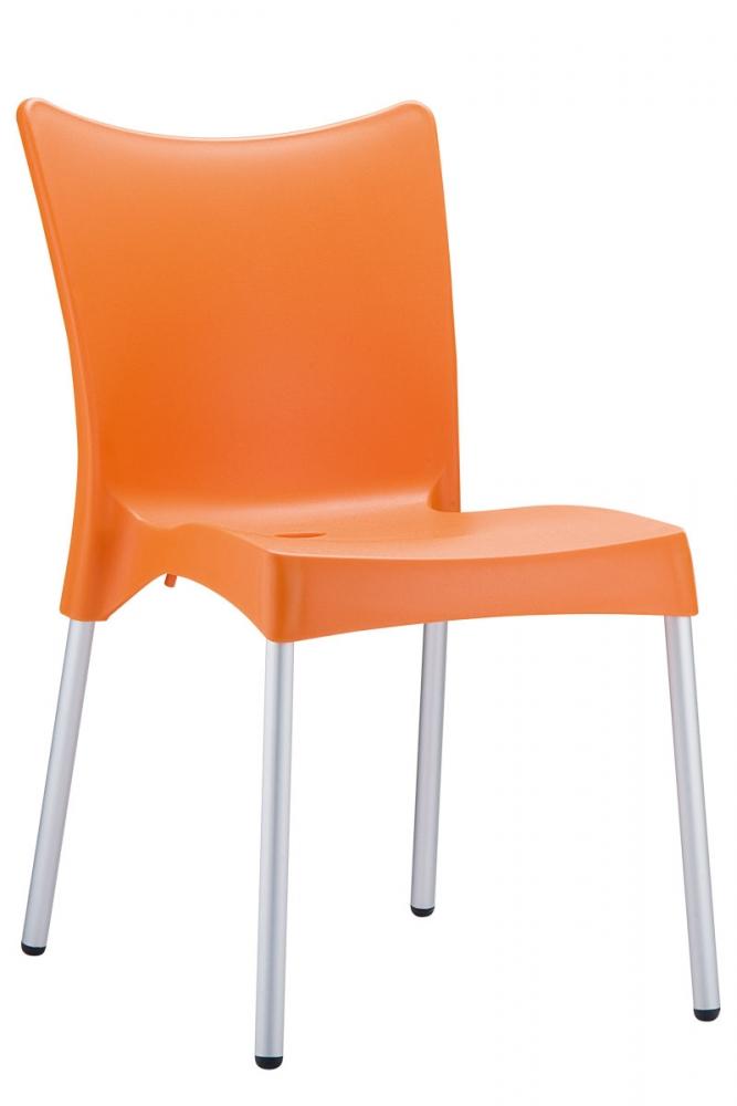 Jídelní židle Juliette, oranžová