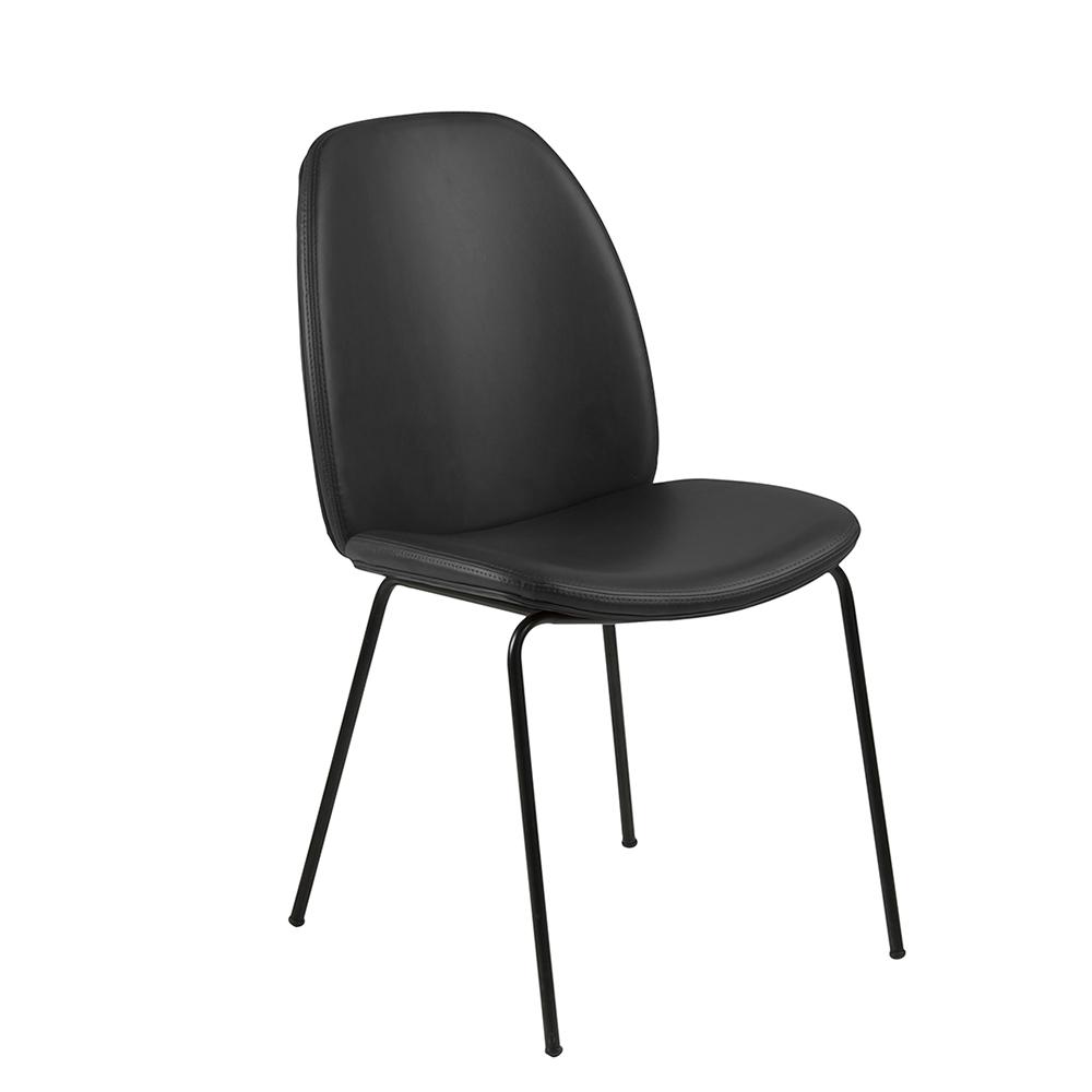 Jídelní židle Karmen (SET 2 ks), černá