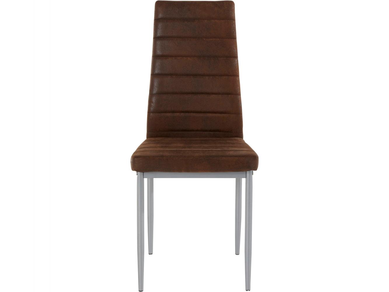Jídelní židle Kiki (SET 2 ks), hnědá