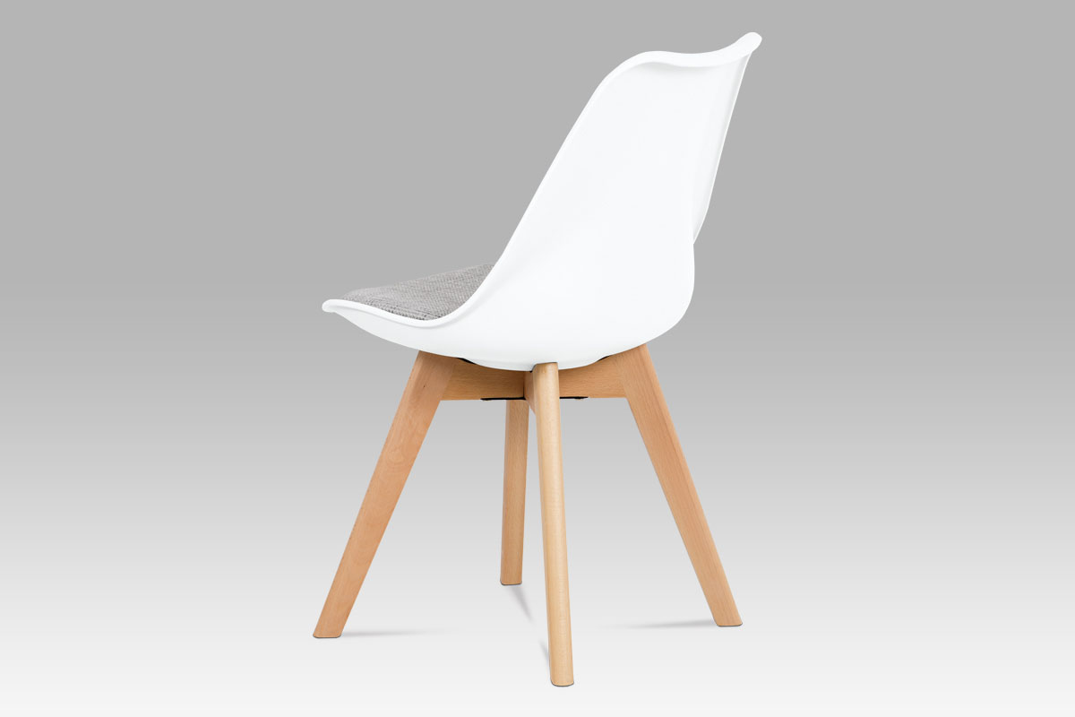 Jídelní židle Kim (SET 4 ks), bílá