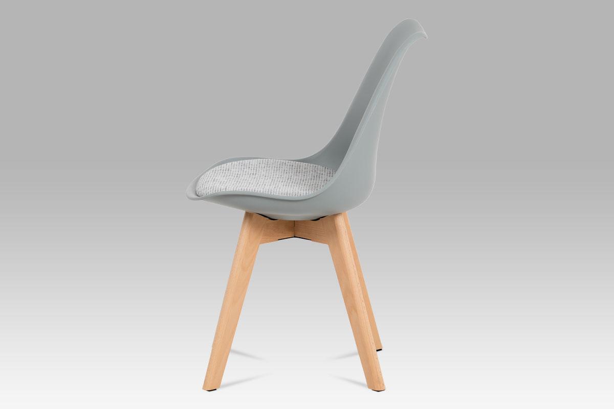 Jídelní židle Kim (SET 4 ks), šedá