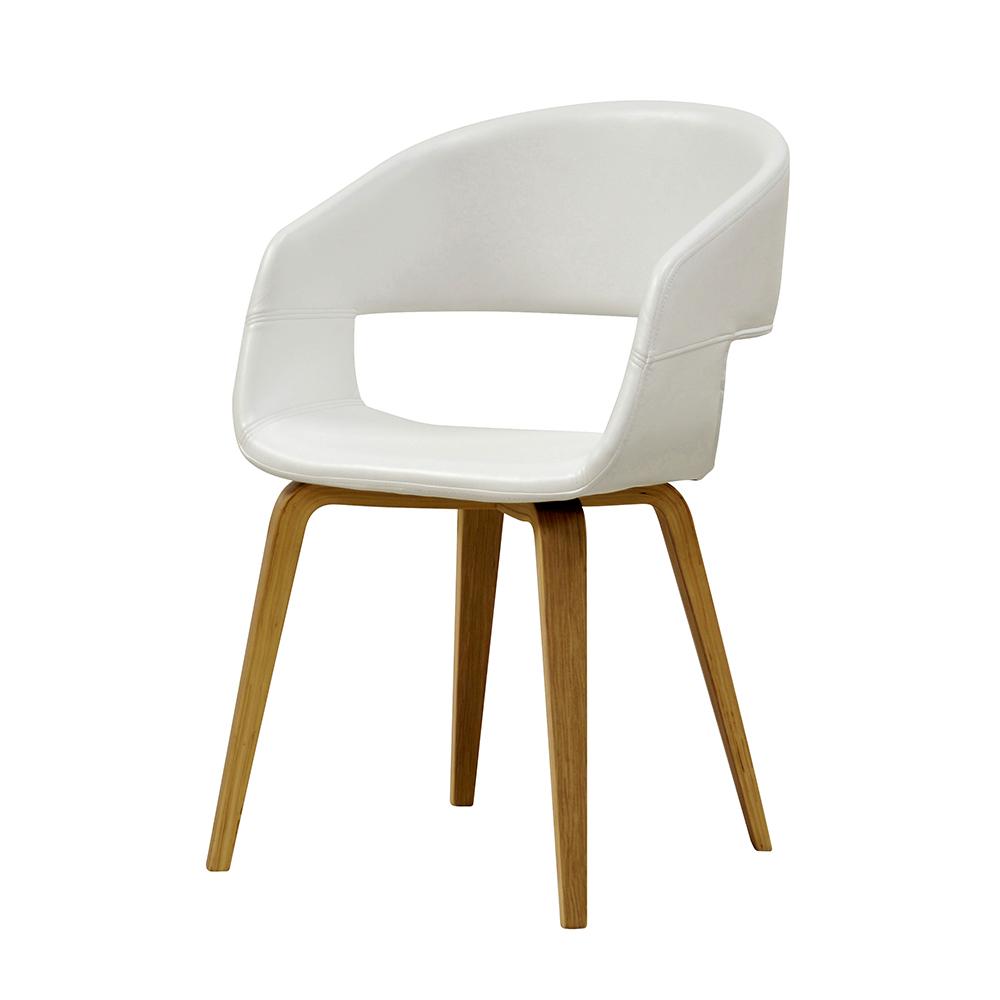 Jídelní židle Kimberly (SET 2 ks), dub/bílá