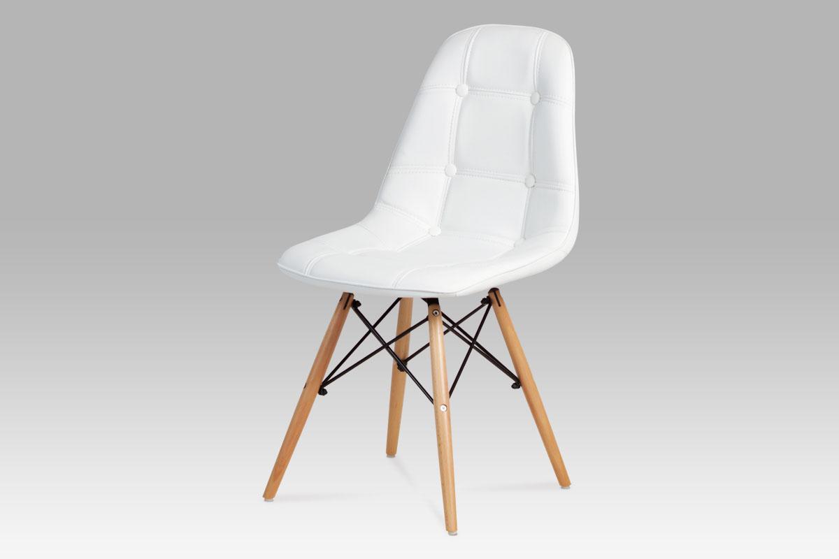 Jídelní židle Lexie (SET 2 ks), bílá
