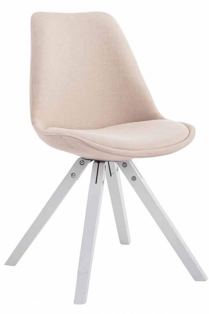 Jídelní židle Liam, krémová