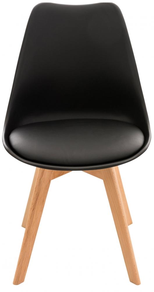 Jídelní židle Lina (SET 4 ks), černá
