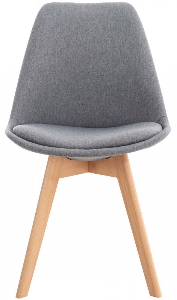 Jídelní židle Lina (SET 4 ks), světle šedá