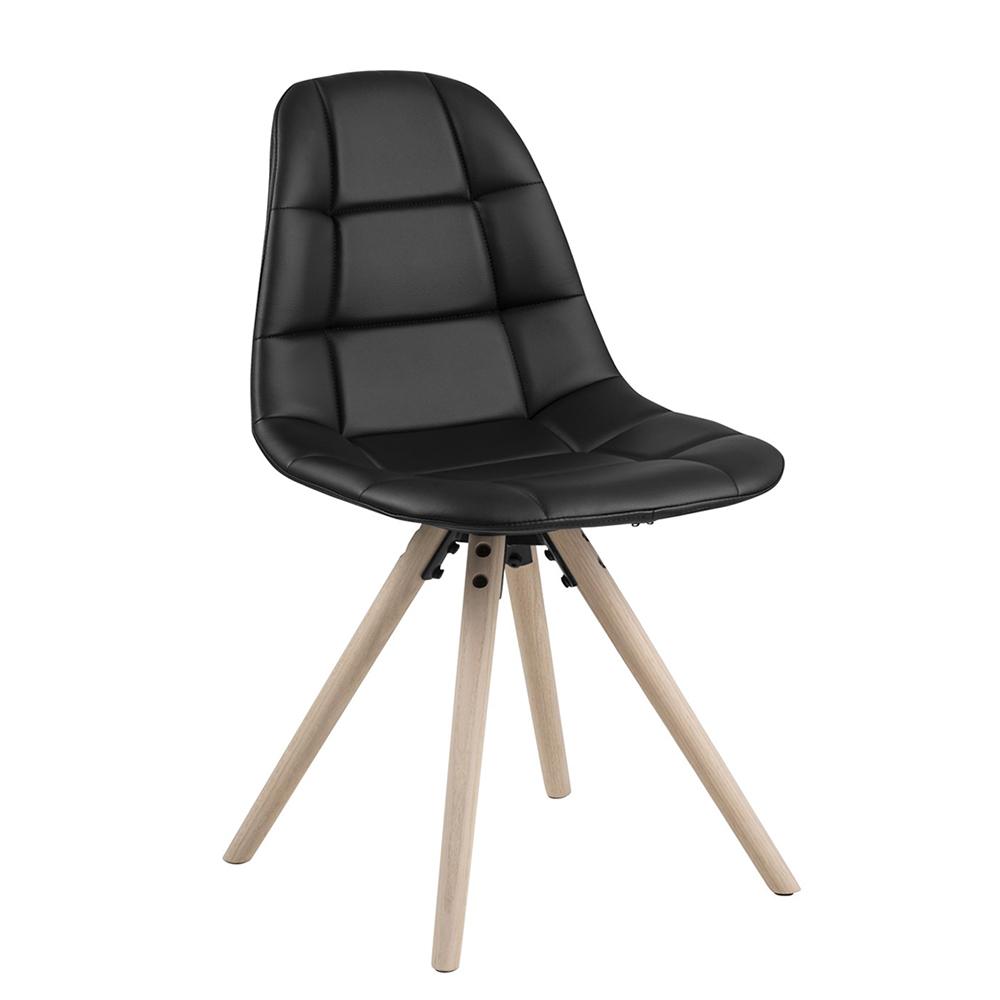 Jídelní židle Lotto (SET 4 ks), černá